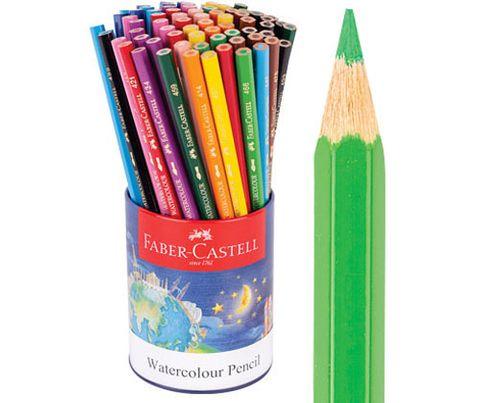 Faber Watercolour Pencils 72s Asst