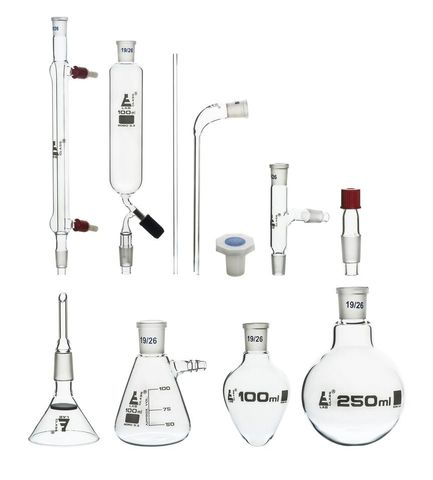 Glassware set B19/B24 (11 items) [EUD3]