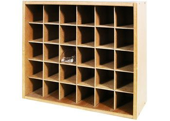 Cabinet for safety glasses holds 30pairs