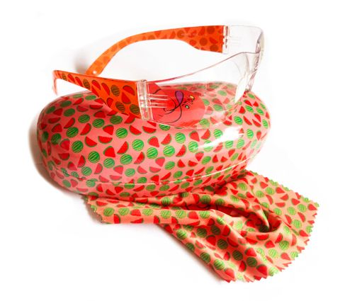 Safety glasses with style - Watermelon