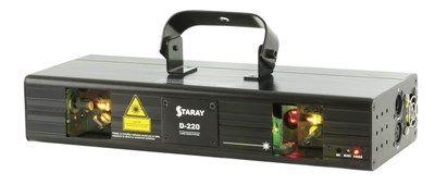 Laser light show DMX powered