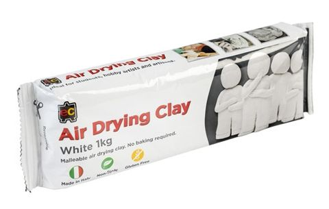 DAS air dry clay - white