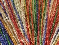 Tinsel assorted colours