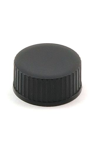 Cap black 20mm w/o wad