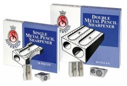 Pencils sharpeners double hole metal