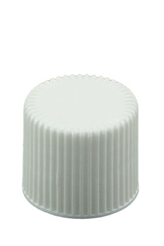 Cap wadded white 20-415 thread (20mm)
