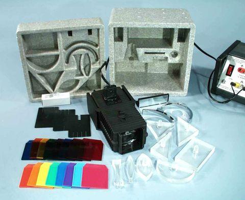 Light box adj.knob & screw for coll.lens