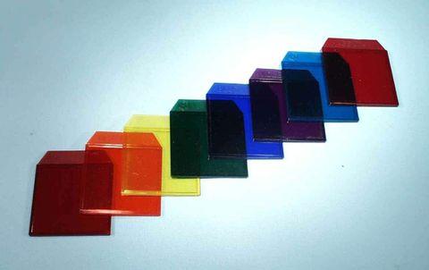 Light box filter plastic Orange