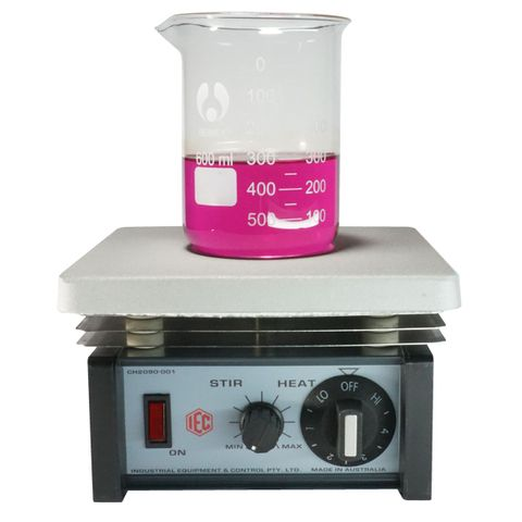Magnetic stirrer/hot plate simm. control
