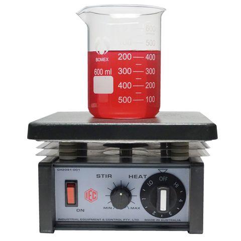 Magnetic stirrer/hot plate simm. PTFE