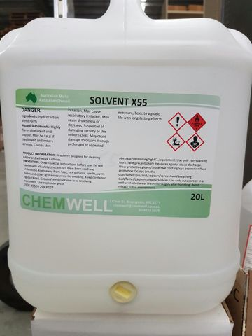 X55 Industrial solvent