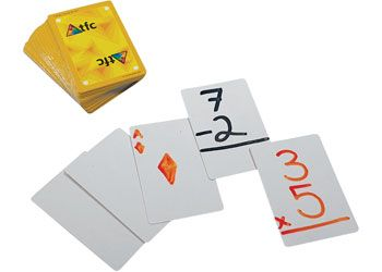 Playing cards blank