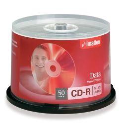 CD-R media storage Imation spindle pack