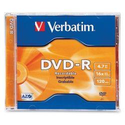 DVD-R Verbatim 4.7gB, 8x speed
