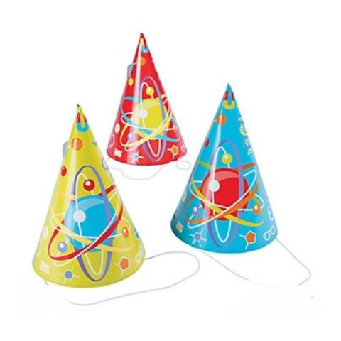 Science Party hats