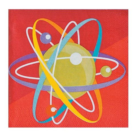 Science Party small napkins