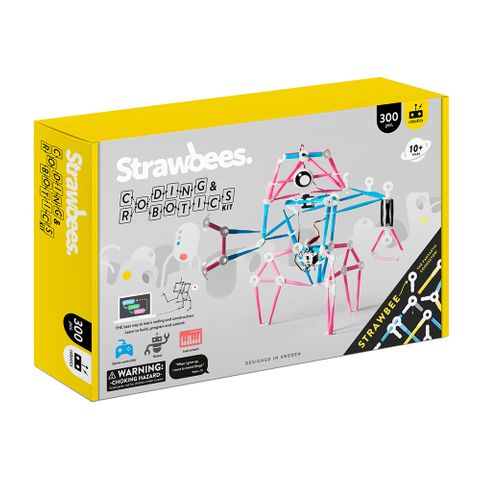 Strawbees coding & robotic kit