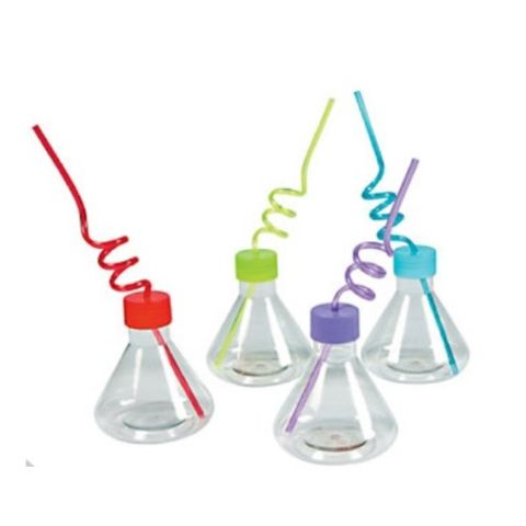 Science Party erlemeyer cups