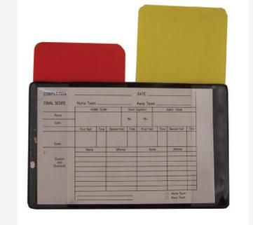 Soccer Referee Cards