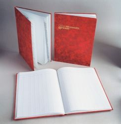 Account book Collins 3880 feint & paged