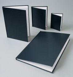 Note book Cumberland A4 ruled l/g black