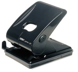 Hole punch 2 hole 40 sheets  black