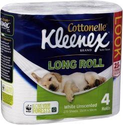 Toilet paper Kleenex Cottonelle