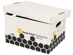Box archive Marbig quickfold with lid