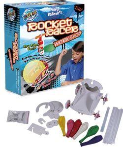 Wild Science - Rocket Racer Workshop