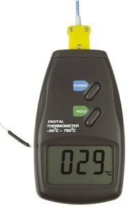 Thermometer with K-type thermo -50/750c