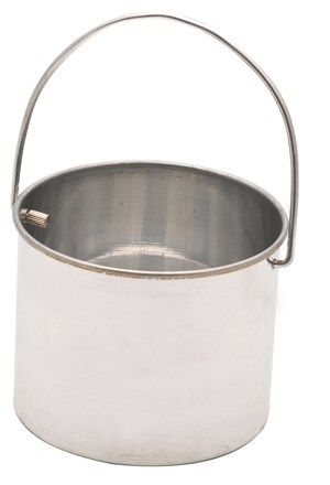 Catch bucket aluminium 100 x 80mm