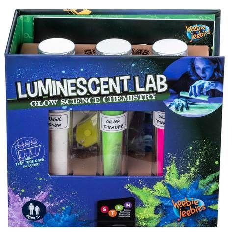 Chemistry lab luminescent