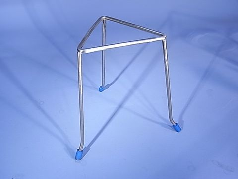 Tripod stand triangular S/S 200mm high