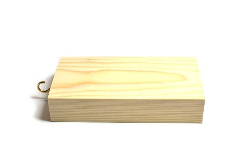 "Friction block wooden 6x3x1.25"""