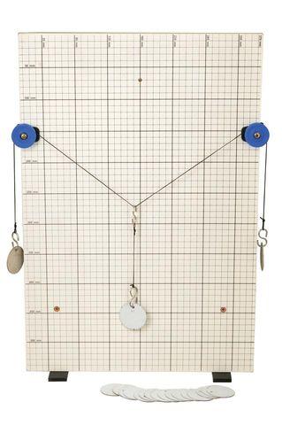 Vector & force board study apparatus