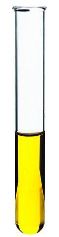 Test tube glass 20x150mm rim light wall