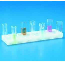 Cuvette rack PE holds 12x 10mm cells