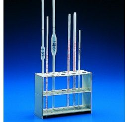 Pipette holder for 16 pipettes vertical
