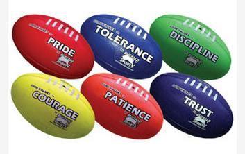 AFL Footballs Core Value Set 2 Keywords