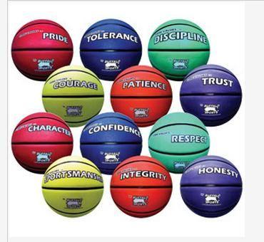 Rubber Basketballs Care Value Set 1 & 2