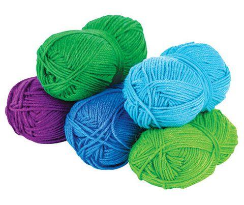 Acrylic Wool Asst 5s Cool