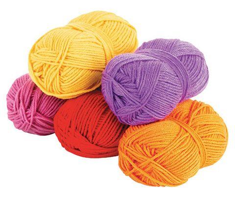 Acrylic Wool Asst 5's Warm