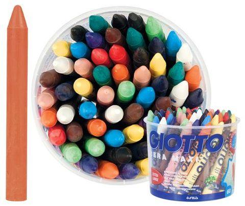 Giotto wax crayons maxi 60 crayons