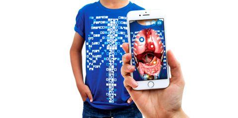 Curiscope Virtuali-Tee - Small Tshirt