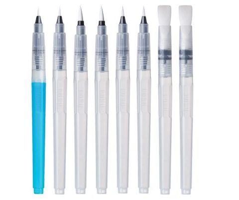 Aqua Brush Set Asst 8s