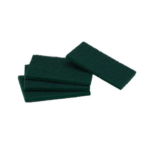 Scourers regular duty green 100x150mm