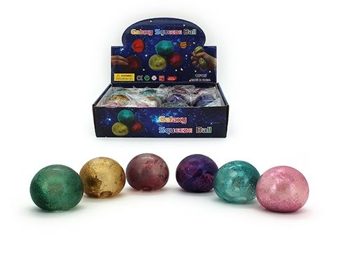 Galaxy squeeze ball