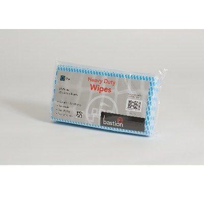 Wipes heavy duty 30x60cm Blue pkt/20