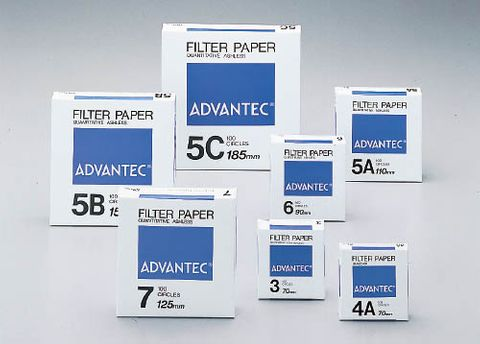 Filter paper Advantec No.4A 125mm