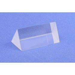 Prism optical glass equilateral 25x50mm